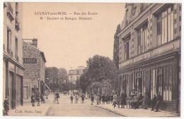 (93) 138, Aulnay Sous Bois, Coll Paris, Rue Des Ecoles M Denizet Et Banque Dumont - Aulnay Sous Bois