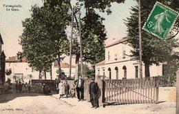 54 MEURTHE ET MOSELLE - VARANGEVILLE La Gare, Aquarellée - Andere Gemeenten