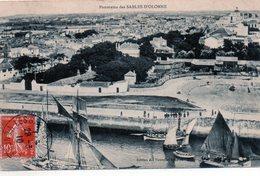 Cpa (85)-- Panorama  Des Sables-d'olonne. - Sables D'Olonne