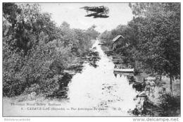CPA D33 - CAZAUX-LAC VUE ARTISTIQUE DU CANAL - France