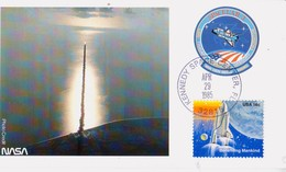 1985 USA  Space Shuttle Challenger  STS-51-B Postal Card - FDC & Commemoratives
