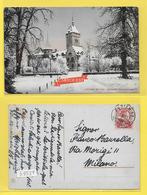 CPA ZURICH Schweiz Landesmuseum Timbrée 1911 ( Sup. Obl. ) - ZH Zurich
