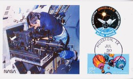 1985 USA  Space Shuttle Challenger  STS-51-F Postal Card - FDC & Commemoratives