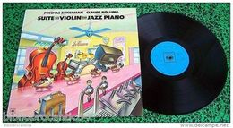 LP 30cm *PINCHAS ZUKERMAN&CLAUDE BOWLING* < Suite For Violin/jazz Piano < CBS 73833 - Jazz