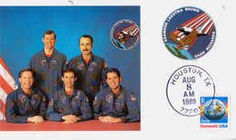 1989 USA  Space Shuttle Columbia'  STS-28 Postal Card - FDC & Commemoratives