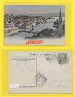 ZURICH - 1906 Vue Générale - Précurseur - ZH Zurich