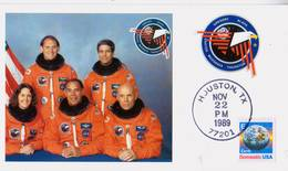 1989 USA  Space Shuttle Discovery   STS-33 Postal Card - FDC & Commemoratives