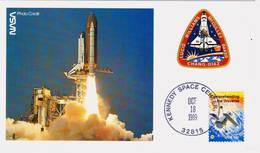 1989 USA  Space Shuttle Atlantis   STS-34 Postal Card - FDC & Commemoratives