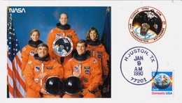 1990 USA  Space Shuttle Columbia  STS-32 Postal Card - FDC & Commemoratives