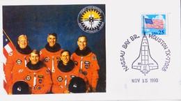 1990 USA  Space Shuttle Atlantis  STS-38 Postal Card - FDC & Commemoratives