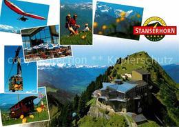 12714573 Luzern LU Drehrestaurant Stanserhorn Bergbahn Wandern Gleitschirmfliege - Switzerland