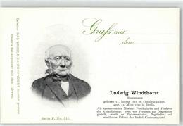 52493654 - Windthorst, Ludwig - Personnages