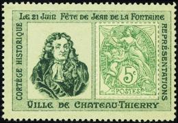 """659 N°111 Sur Porte-timbre """"Château-Thierry"""" Qualité:** Cote: ..... - Non Classés"""