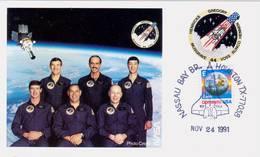 1991 USA  Space Shuttle Atlantis  STS-44 Postal Card - FDC & Commemoratives