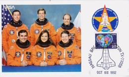 1992 USA  Space Shuttle Columbia  STS-52 Postal Card - FDC & Commemoratives