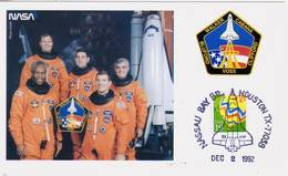 1992 USA  Space Shuttle Discovery  STS-53 Postal Card - FDC & Commemoratives