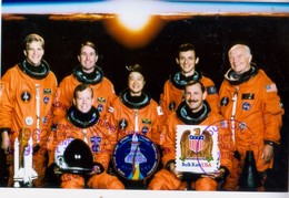 1998 USA  Space Shuttle  Discovery STS-95 Postal Card - FDC & Commemoratives