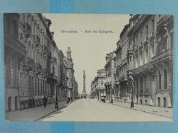 Bruxelles Rue Du Congrès - Lanen, Boulevards