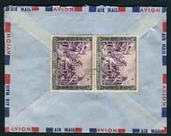 Laos Lettre De 1954 De Vientiane Pour Paris - Laos