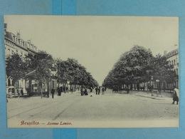 Bruxelles Avenue Louise - Lanen, Boulevards