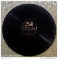 78Trs *S.SIGNORET* < J'AI MANGE AVEC LE PRESIDENT/LETTRE AU BON DIEU < PATHE PG 697 - 78 T - Disques Pour Gramophone