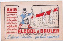 Buvard  ALCOOL A BRULER (PPP8441) - Buvards, Protège-cahiers Illustrés