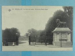 SBP 42 Bruxelles Au Parc De Laeken Entrée Du Palais Royal - Forêts, Parcs, Jardins