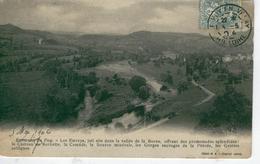 LES ESTREYS Près St Vidal, Polignac , Joli Site Vallée De La Borne -1904-dos Simple- Bon état - France