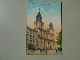 POLOGNE WARSZAWA KOSCIOL Sw KRZYZA - Polen