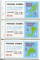 1976-GRENADINE S.VINCENT- 7 CARNETS DIFFERENTS  -M.N.H.-  LUXE ! - St.-Vincent En De Grenadines