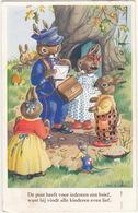 Kinderkaart - 'De Post Heeft Voor Iedereen Een Brief, Want Hij Vindt Alle Kinderen Even Lief' - Humorkaarten