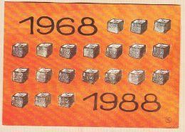 Nw2076 MAI 68-88 Les PAVES Par VASCO-GASQUET Artiste Peintre 1968-1988 20 ANS DEJA Cppub - Demonstrations