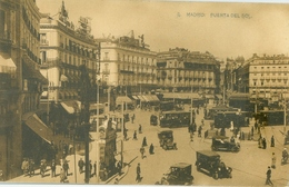 Madrid; Puerta Del Sol (Tramway) - Not Circulated. (Hauser Y Menet - Madrid) - Madrid