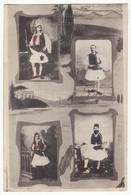 Greece Traditional Greek Ethnic National Men Costumes 1910s Old Vintage Postcard - Greece