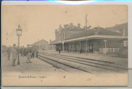 GARE BELGIQUE NINOVE  DISPERSION D'UN BEL ENSEMBLE - Stations Without Trains