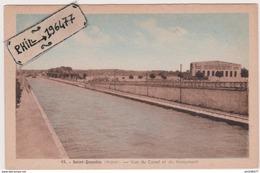 02 Saint Quentin - Cpa / Vue Du Canal Et Du Monument. - Saint Quentin