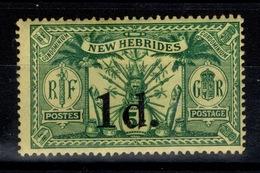 Nouvelles Hebrides - YV 67 N* (légère) Cote 11 Euros - Nuevos