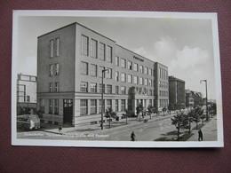 CPA PHOTO ALLEMAGNE GDYNIA GDINGEN GOTENHAFEN Goring Strasse Und Postamt 1950 1960  RARE PLAN ? SELTEN ? - Allemagne