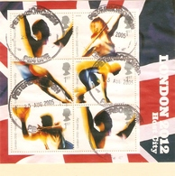 GREAT BRITAIN 2005 OLYMPIC'S LONDON 2012 MINIATURE SHEET FINE USED - Blocks & Miniature Sheets