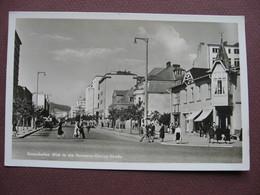 CPA PHOTO ALLEMAGNE GDYNIA GDINGEN GOTENHAFEN Blick In Die Goring Strasse 1950 1960  RARE PLAN ? SELTEN ? - Allemagne