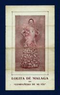Lolita De Málaga - Programas