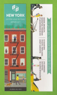 Marque Page.   Bookmark.   NEW YORK.   Editions Les Arènes - Bookmarks
