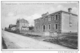 D33 Cpa - GUITRES - LA GENDARMERIE ET LA ROUTE NATIONALE DE BORDEAUX-PARIS - Autres Communes