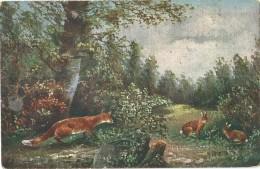 Chien - Hond - Dog - Hünd - Renard - Vos - Fox - Monopol 308/1 - Printed In Austria - Chiens