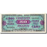 France, 50 Francs, 1945 Verso France, 1945, 1945, TTB, Fayette:VF24.2, KM:122b - Treasury