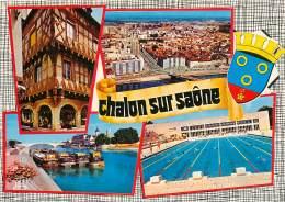 CHALON Sur SAONE  La Piscine     3   (scan Recto-verso)MA1939Ter - Chalon Sur Saone
