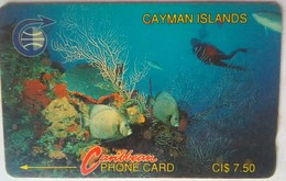 5CCIA $7.50 Underwater - Cayman Islands