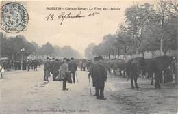 03-MOULINS- COURS DE BERCY- LA FOIRE AUX CHEVAUX - Moulins