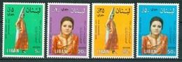 1974 Libano Lebanon Georgina Rizk Miss Universo Set MNH** Fiog90 - Lebanon