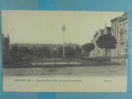 Bruxelles Quartier Nord-Est Avenue Palmerston - Lanen, Boulevards